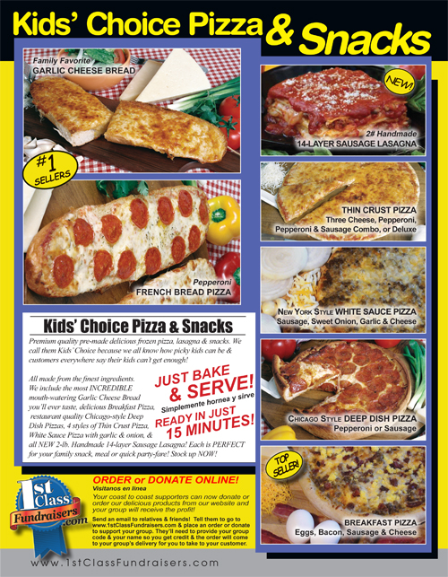 Kid's Choice Pizza & Snacks